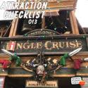Jingle Cruise – Disneyland – Attraction Checklist #013