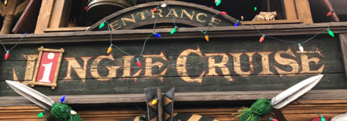 Jingle Cruise – Disneyland – Attraction Checklist #013