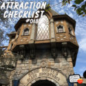 Snow White's Scary Adventures – Disneyland – Attraction Checklist #018