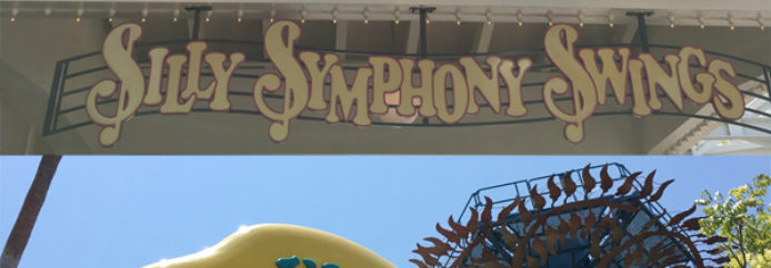 Silly Symphony Swings & Jumpin' Jellyfish – Disney California Adventure – Attraction Checklist #019
