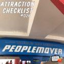 Tomorrowland Transit Authority PeopleMover – Magic Kingdom – Attraction Checklist #026