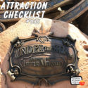 Under the Sea – Journey of the Little Mermaid – Magic Kingdom – Attraction Checklist #035