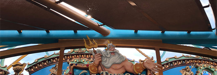 King Triton's Carousel of the Sea – Disney California Adventure – Attraction Checklist #39